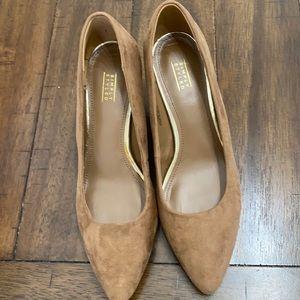 Tan Wedge Heels 7.5M Simply Styled